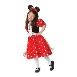 Kostým Minnie Mouse - červený