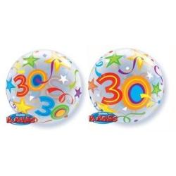 Balón fóliový 30. narodeniny, 55cm
