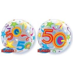Balón fóliový 50. narodeniny, 55cm