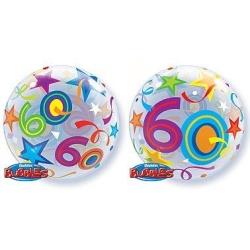 Balón fóliový 60. narodeniny, 55cm