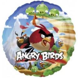 Balón fóliový Angry Birds, 45cm