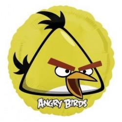 Balón fóliový Angry Birds žltý, 45cm