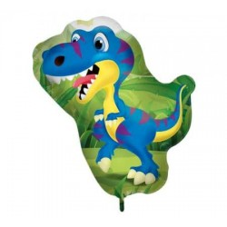 Balón fóliový Dinosaurus, 60cm