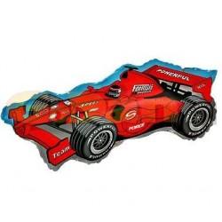 Balón fóliový Formula 1 červená, 35cm