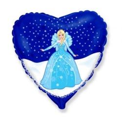 Balón fóliový Frozen Elsa, 45cm