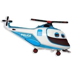 Balón fóliový Policajná helikoptéra, 60cm