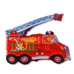 Balón fóliový požiarnicke auto, 35cm