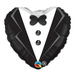 Balón fóliový srdce MR, 45cm