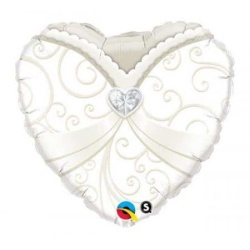 Balón fóliový srdce MRS, 45cm