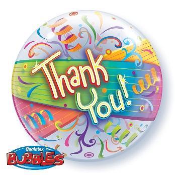 Balón fóliový Thank You, 55cm