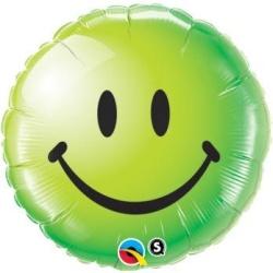 Balón fóliový Úsmev zelený, 45cm