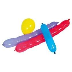 Balónová zostava, mix rôznych tvarov a farieb, 15ks