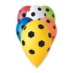 Balóny Futbal, 35cm, 5ks