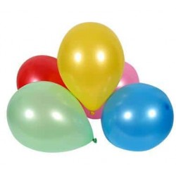 Balóny pastelové farebný mix, 20cm 100ks