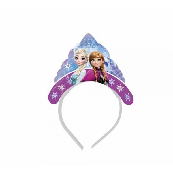 Čelenka Frozen - Ľadové kráľovstvo, 6ks