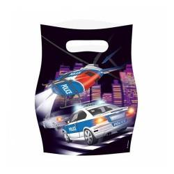 Darčekové tašky Polícia, 8ks