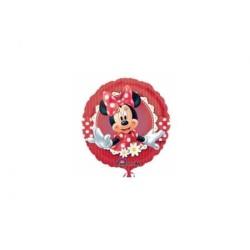 Fóliový balón Minnie Mouse červený, 45cm