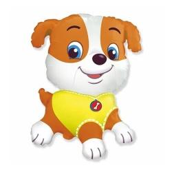 Fóliový balón Psík Bulldog, 35 cm