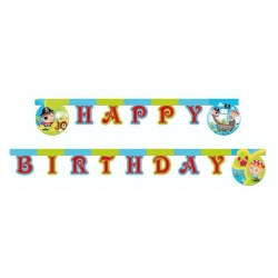 Girlanda nápis Happy Birthday Malý pirát