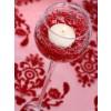 Girlanda perlová červená, 130cm, 1ks