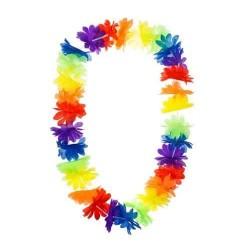 Havajský náhrdelník farebný, 100cm