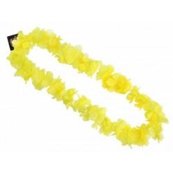 Havajský náhrdelník žltý, 100cm
