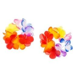 Havajský náramok s kvetov Ibišteka, 2ks
