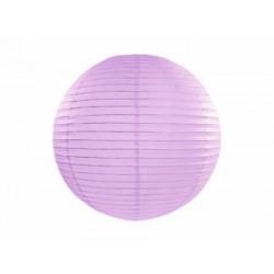 Lampión dekoračný guľa levanduľový, 25cm