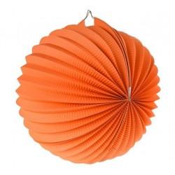 Lampión dekoračný guľa oranžový, 25cm