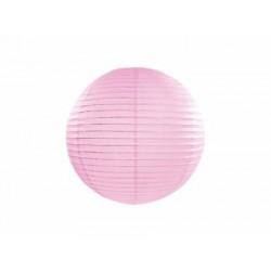 Lampión dekoračný guľa ružový, 20cm