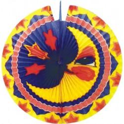 Lampión diskový Mesiac, 33cm, 1ks