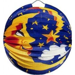 Lampión okrúhly Mesiac, 24cm, 1ks