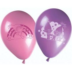 Latexové balóny Trollovia, 8ks
