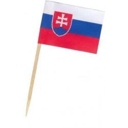 Napichovadlá vlajka SR, 70mm, 50ks