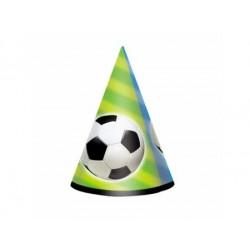 Narodeninové čapice Futbal lopta, 8ks