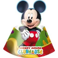 Narodeninové čapice Mickey Mouse, 6ks