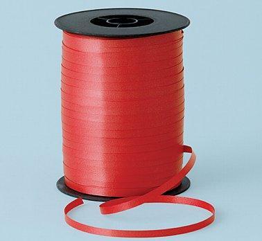 Ozdobná stuha červena, 5mm x 500m