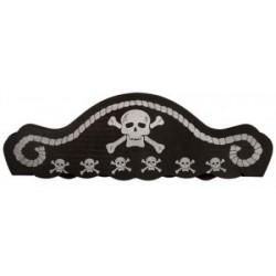 Pirátsky klobúk penový
