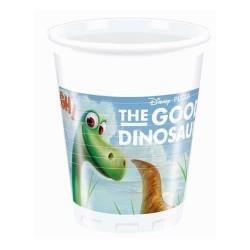 Plastové poháre Dobrý dinosaurus, 8ks