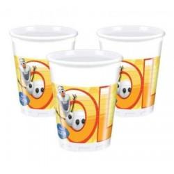 Plastové poháre Olaf Summer, 8ks
