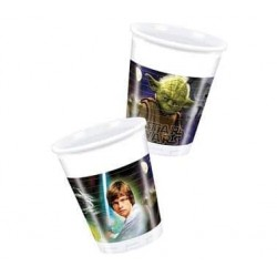 Plastové poháre STAR WARS HEROES, 8ks
