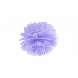 POM POM papierový tissue bledo fialová, 25cm
