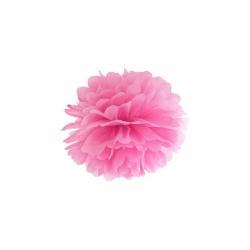 POM POM papierový tissue ružový, 25cm