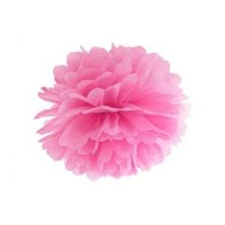 POM POM papierový tissue ružový, 35cm