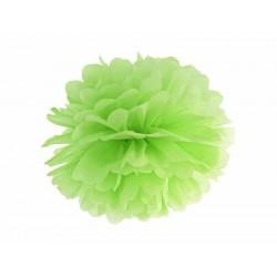POM POM papierový tissue zelený, 35cm