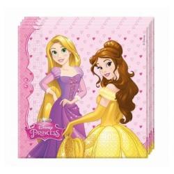 Servítky Disney Princezny, 20ks