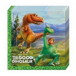 Servítky Dobrý dinosaurus, 20ks