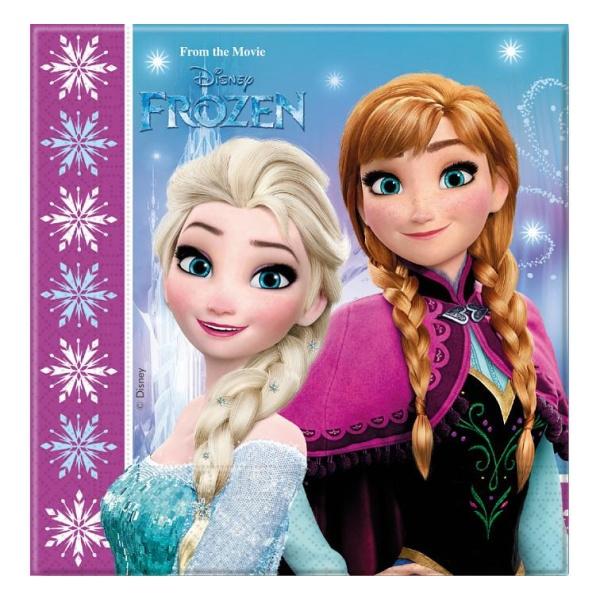 Servítky Frozen, 20ks