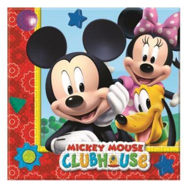 Servítky Mickey Mouse Play, 20ks