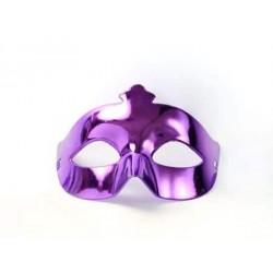 Škraboška fialová, maska na párty, 1ks